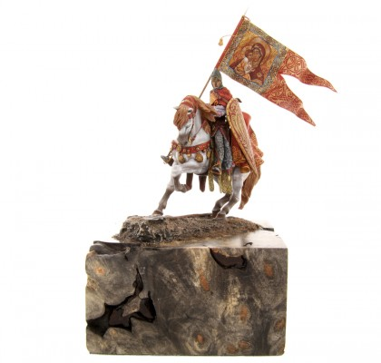 Figurine en plomb