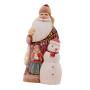 Saint Nicolas et le bonhomme de neige