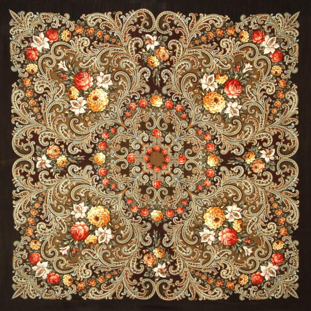 ineguagliabile bellissimo aspetto prezzo base Scialle di lana con frangia a nodi di seta lavorati a mano ...
