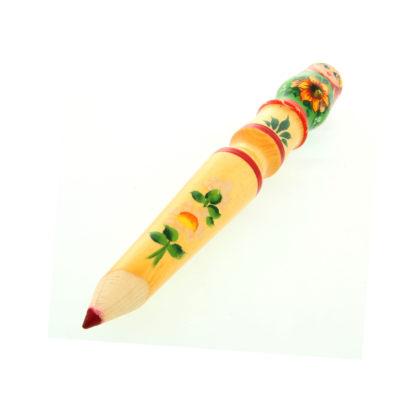 Crayon avec tête en poupées gigognes