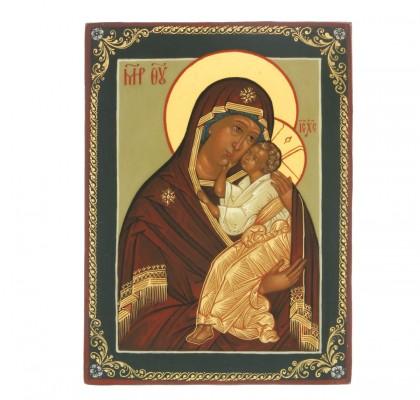 L'icône de la Sainte Vierge L'attendrissement