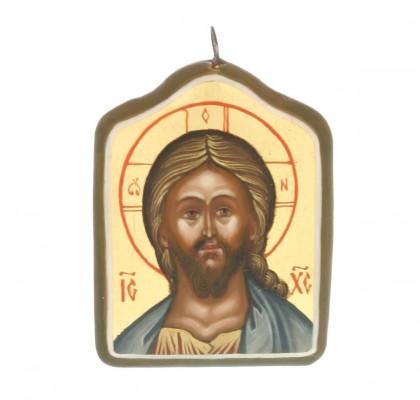 Pendentif icône de La Sainte Facede Jésus