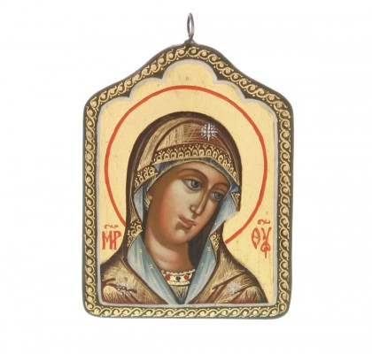 Pendentif icône de Sainte Vierge