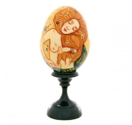 Œuf Klimt, peint à la main