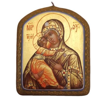 Icône de Notre Dame de Vladimir Pendentif