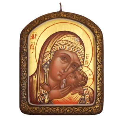 Icône de  Notre Dame de Kasperov Pendentif
