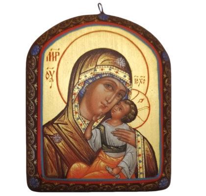 Icône de la Vierge de la Tendresse Pendentif