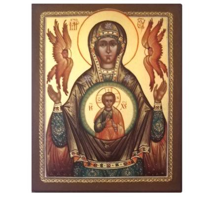 Icône de Notre Dame du Signe