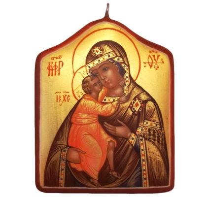 Icône de Notre Dame de Feodor Pendentif