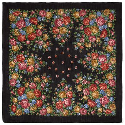 Châle en laine. Motif: Fleurs pour l'Ame, Créatrice:  Nataliya Belokur
