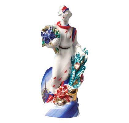 Sculpture Flower girl Flower Seller