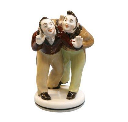 Sculpture Bobchinskiy & Dobchinskiy