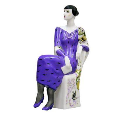 Sculpture Sitting Akhmatova