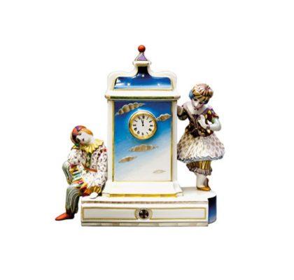 Sculpture Clock Fairy tale time