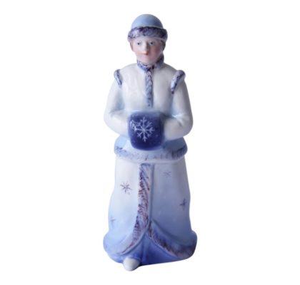 Sculpture Snow girl Snowstorm