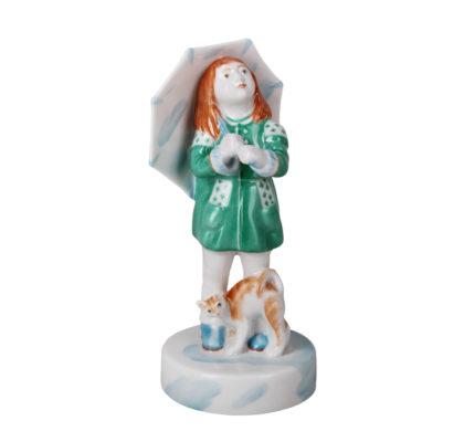 Sculpture Girl with umbrella Olenka