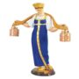 Sculpture Water carrier girl (Pimenov) Vodonoska