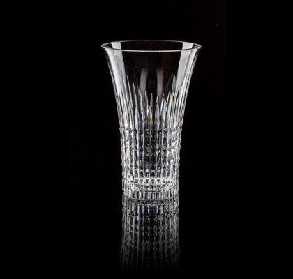 Vase moderne translucide en cristal, Crown