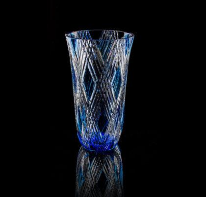 Vase moderne bleu clair Triomphe